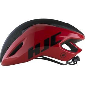 HJC Valeco Road Helmet matt gloss red black